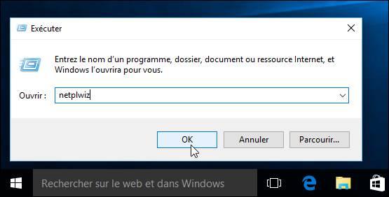 ouverture clé usb window 10